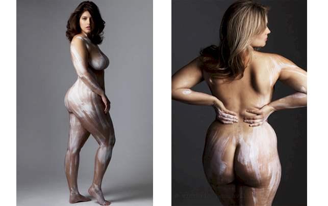 smukke modne kvinder gravid med mens